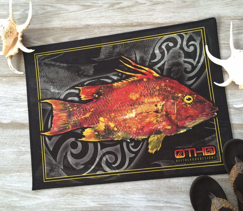 "FLOOR MAT 24""X18"" - LADY HOG"