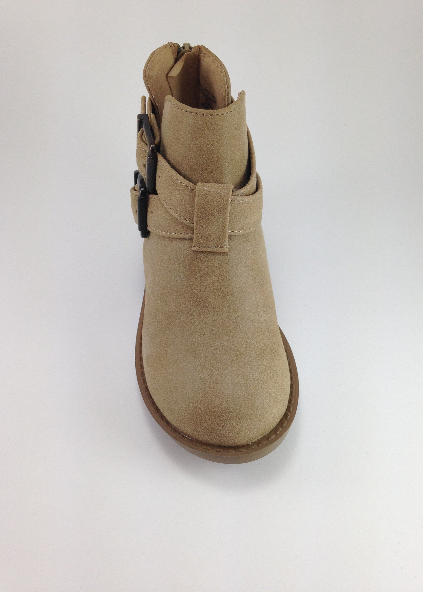 Girls Tan Ankle Boots   Girls Shoes