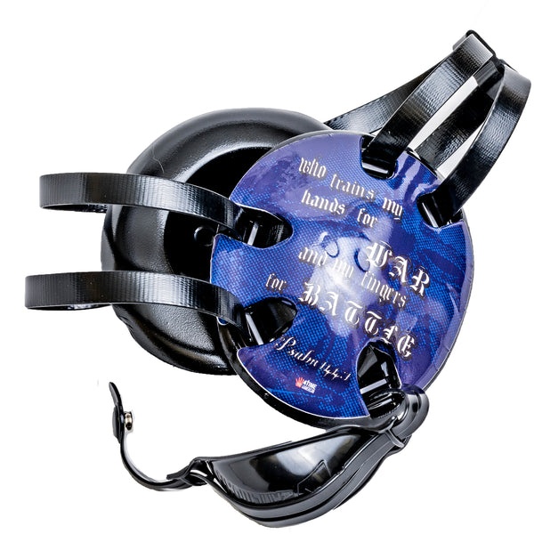 Psalm 144:1 Blue Wrestling Headgear