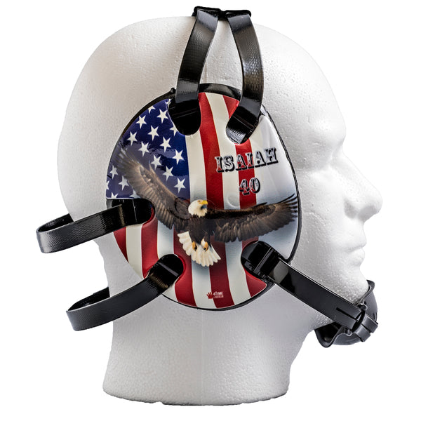 Isaiah 40 Eagle Wrestling Headgear