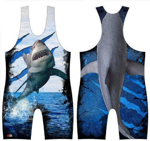 Flying Shark Wrestling Singlet