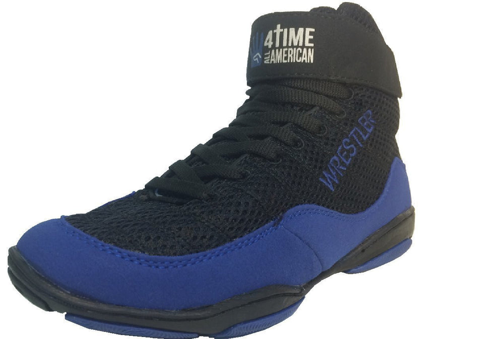 Blue Wrestling Shoes