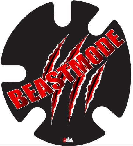 Beastmode:  Wrestling Headgear Decals, Wraps by 4Time All American