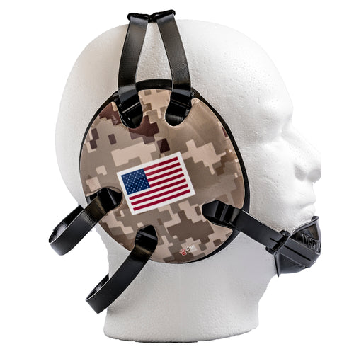 Desert Camo USA Wrestling Headgear