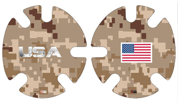 Desert Camo Decals: Wrestling Headgear Decals, Wraps by 4Time All American …