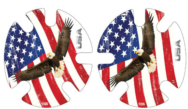 Eagle and Flag: Wrestling Headgear Decals, Wraps by 4Time All American …