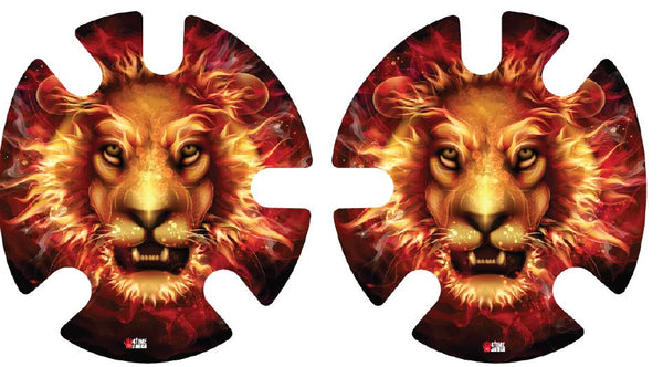 Fire Lion: Wrestling Headgear Decals, Wraps by 4Time All American...