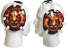 Fire Lion Wrestling Headgear