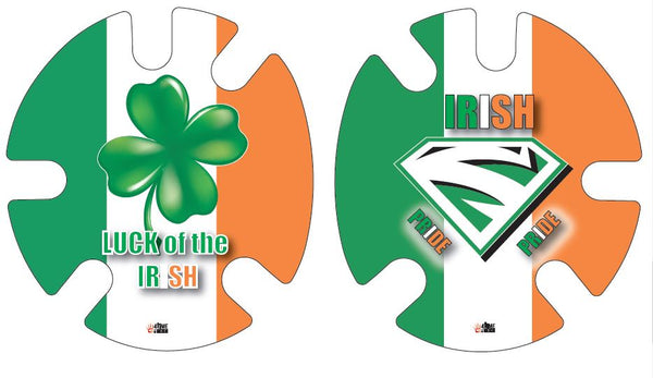 Irish Pride:  Wrestling Headgear Decals, Wraps by 4Time All American