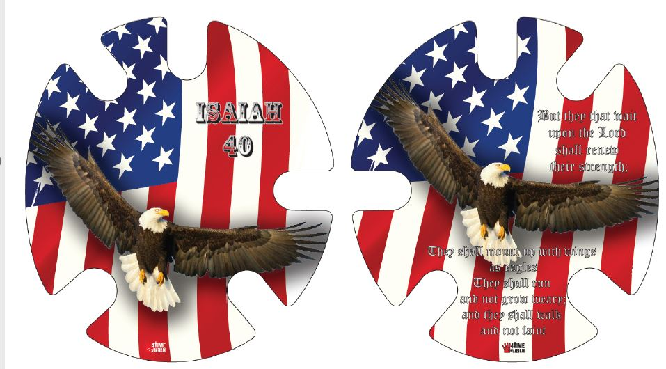 Isaiah 40: Wrestling Headgear Decals, Wraps by 4Time All American