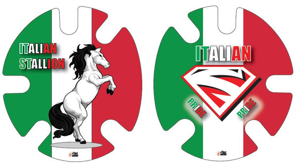Italian Pride:  Wrestling Headgear Decals, Wraps by 4Time All American