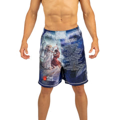 Jacob Wrestling God Shorts, CrossFit, MMA, Wrestling, Kickboxing, Boxing Shorts