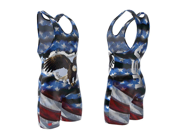 USA Eagle Wrestling Singlet