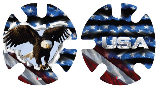 USA Eagle: Wrestling Headgear Decals, Wraps by 4Time All American...