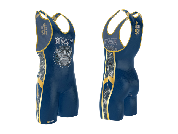US Navy Wrestling Singlet