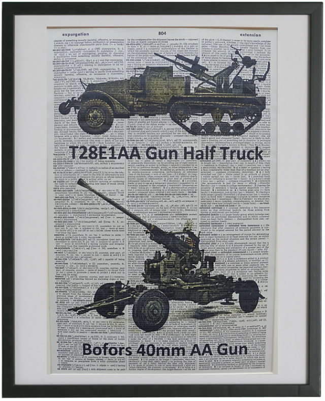 Anti-Aircraft Guns Print No.278
