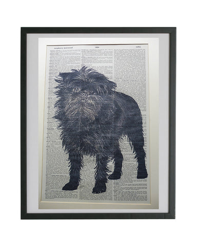 Affenpinscher Dog Print No.746