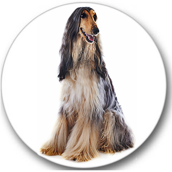 Afghan Dog Sticker Seals No.708