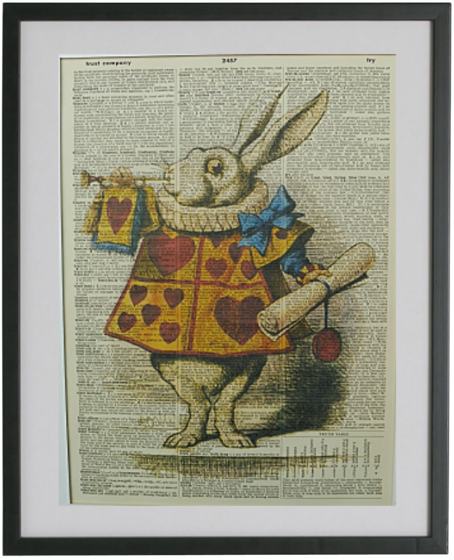 Alice in Wonderland Print No.338