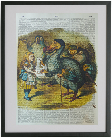 Alice in Wonderland Dodo Bird Print No.145