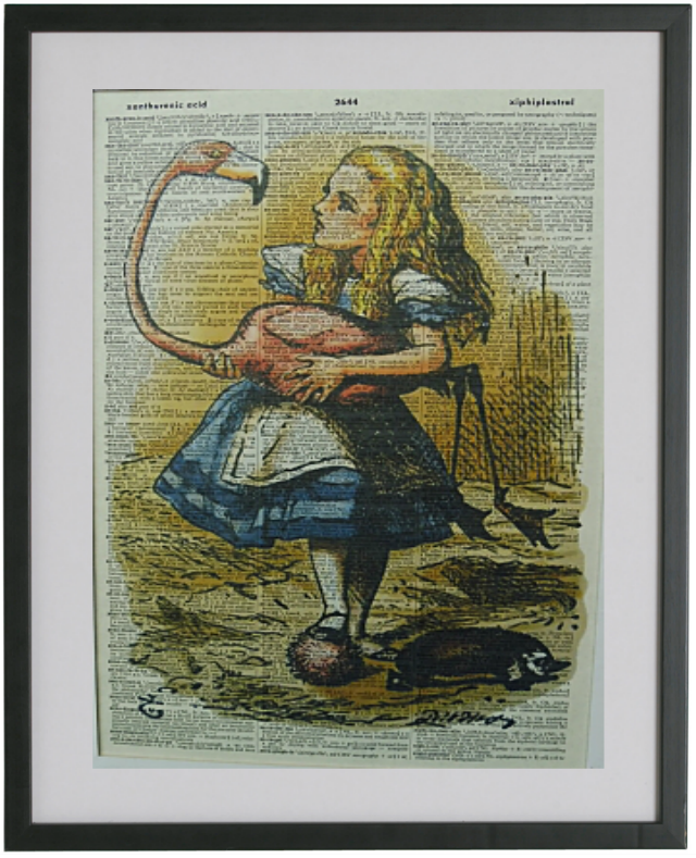 Alice in Wonderland Print No.339