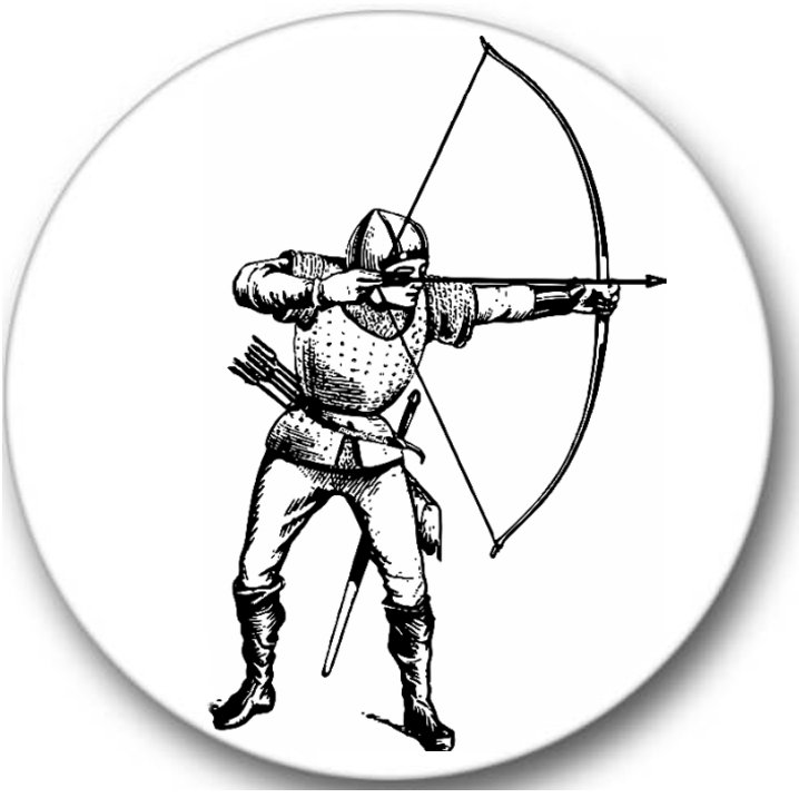 Archery Sticker Seals No.594