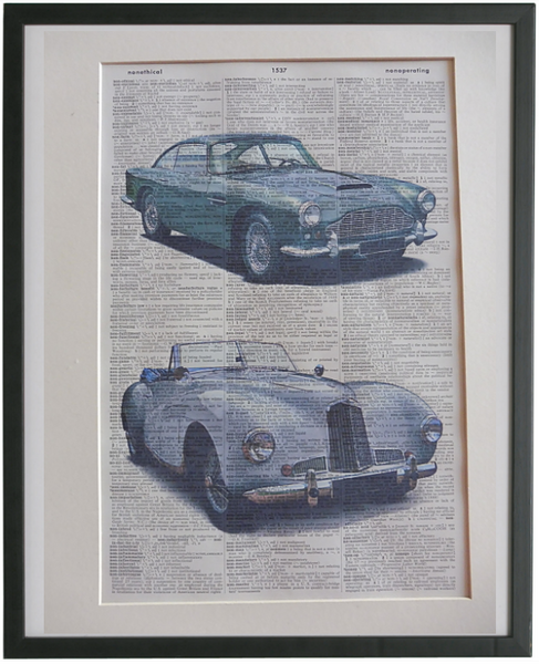 Aston Martin Car Wall Art No.766