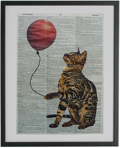 Bengal Cat #2 Wall Art No.265