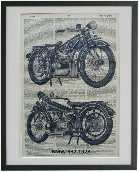BMW Motorcycle Print No.135