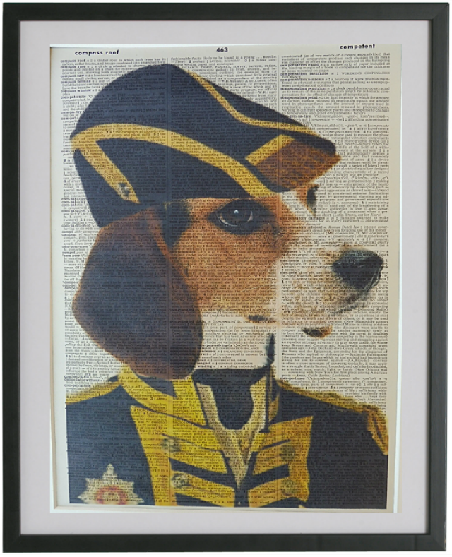 Beagle Dog Print No.34