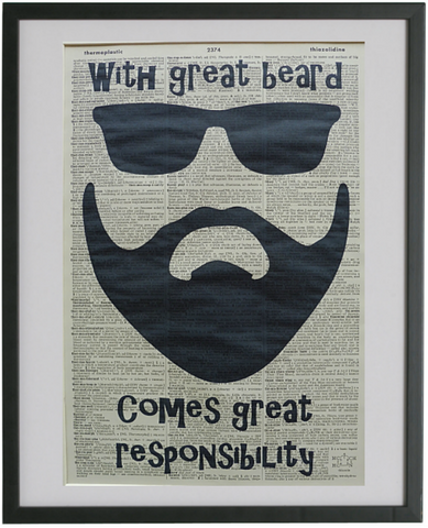 Beard Print No.356, miscellaneous