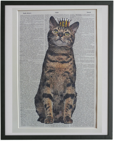 Bengal Cat Print No.918
