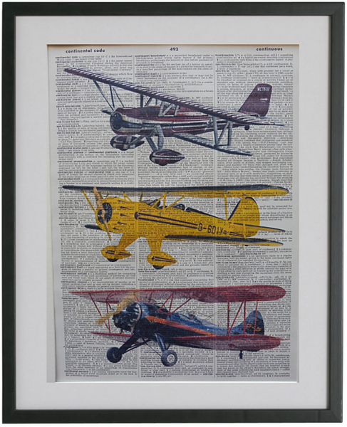 Plane Print No.511, miscellaneous