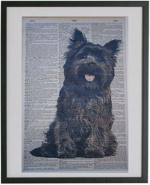 Cairn Terrier Dog #1 Print No.110