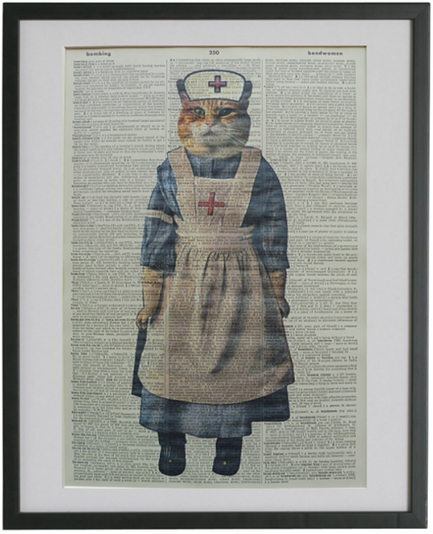 Cat Nurse Print No.238