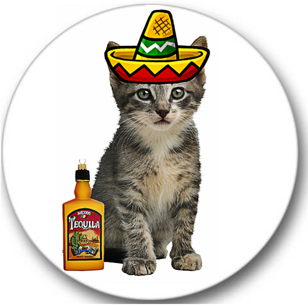 Mexican Cat Sticker Seals No.611