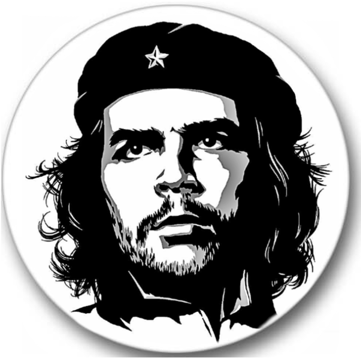 Che Guevara Sticker Seals No.816, famous