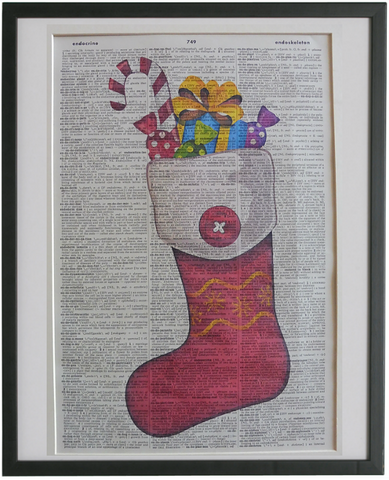 Christmas Stocking Print No.861