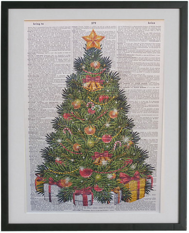 Christmas Tree Print No.419, miscellaneous