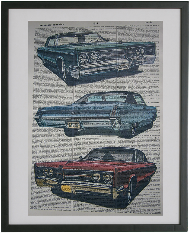 Chrysler 300 1967 Car Print No.157