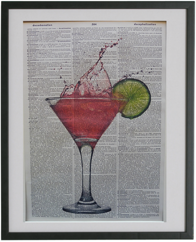 Cocktail Print No.521, miscellaneous
