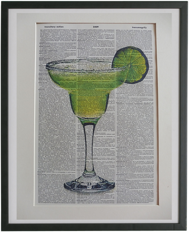 Margarita Cocktail Print No.941