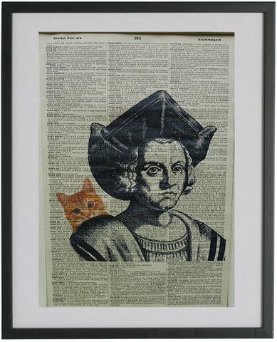 Christopher Columbus Print No.307, famous