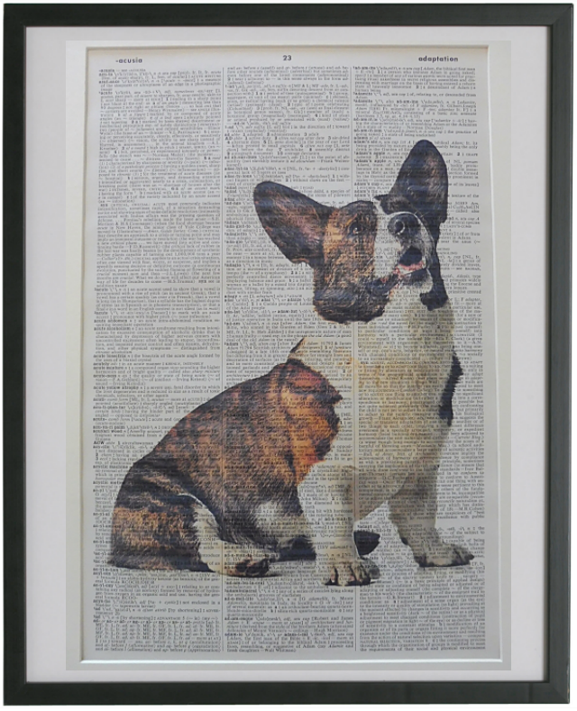 Corgi Dog #2 Wall Art No.821