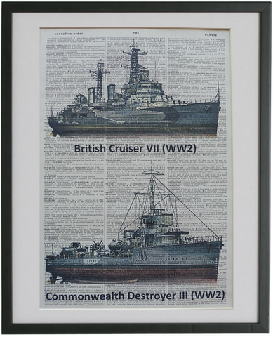 Navy Ships Wall Art No.282