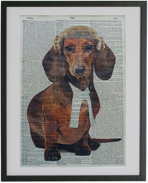 Dachshund Dog Print No.553