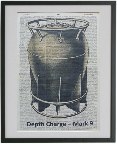 Depth Charge Print No.277