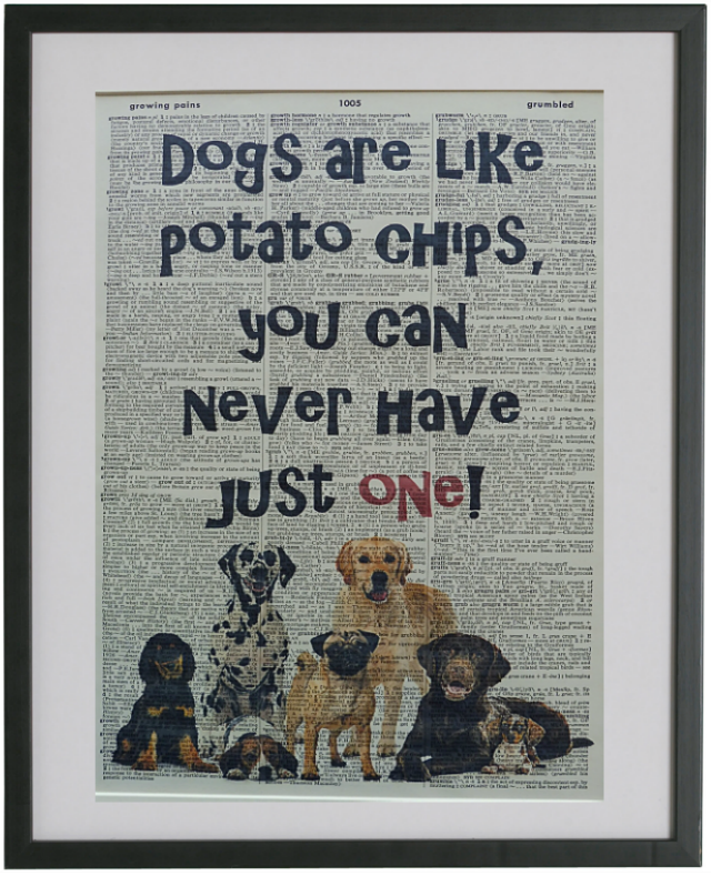 Dog Quote Print No.530