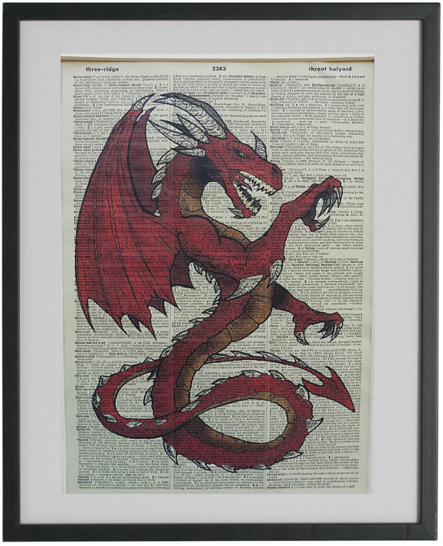 Dragon Print No.481, miscellaneous