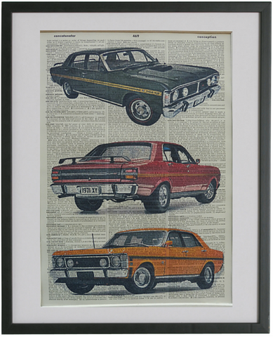 Ford Falcon GT Car Print No.465